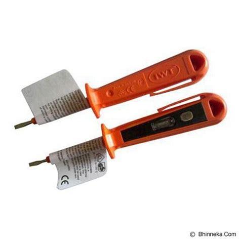 Obeng Test Pen jual iwt test pen 155mm orange murah bhinneka