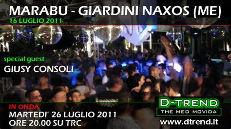 marabu giardini naxos d trend t marabu special guest giusy consoli