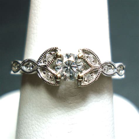 vintage engagement rings hd cut