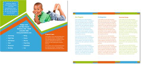child care brochure template 26 child care owner