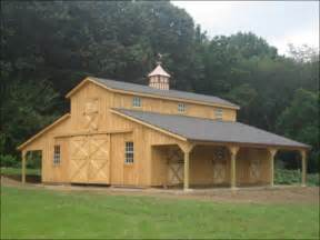 Shed Roof Home Plans horse barn amp stables for sale beautiful amp functional