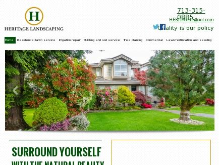 landscaping conroe tx heritage landscaping landscaping service conroe tx