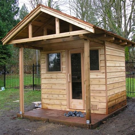 backyard steam room outdoor steam room kit these outdoor sauna pictures will