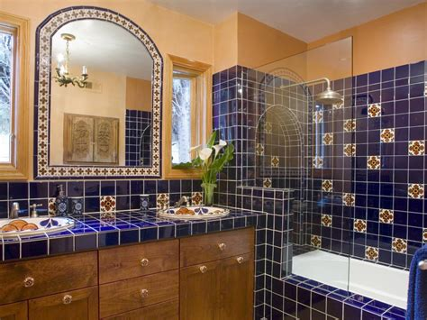mexican tile bathroom ideas choosing a bathroom backsplash hgtv