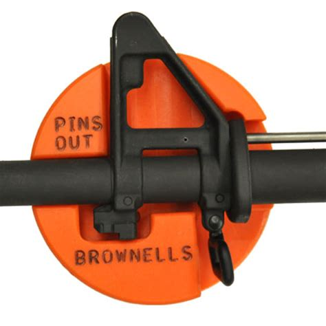 ar 15 m16 front sight bench block by brownells