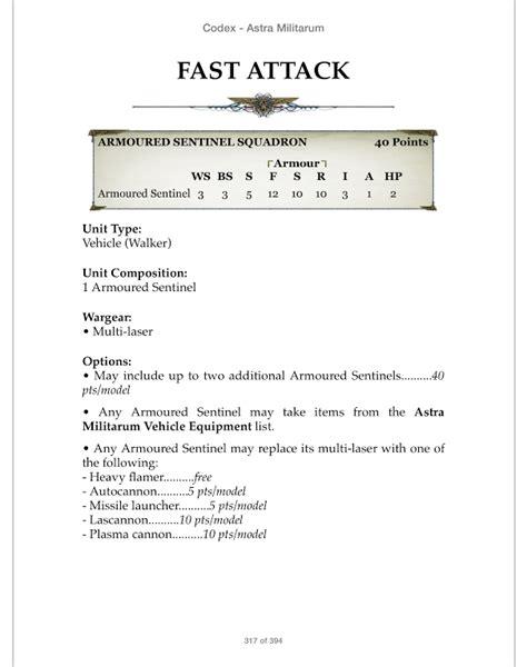 Codex Astra Militarum codex astra militarum page 4