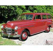 1949 Plymouth Suburban Original Driving SUV