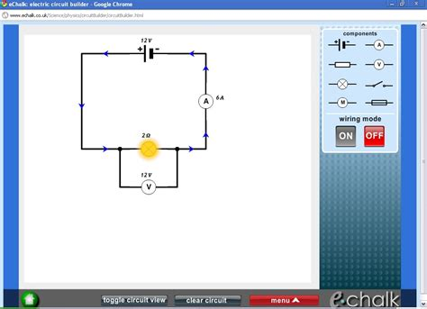 circuit builder simulator ideas electrical circuit