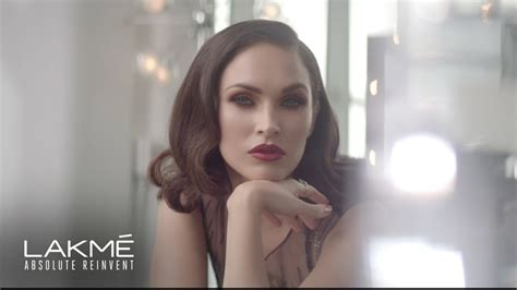Lakme Absolute Reinvent introducing lakme absolute reinvent megan fox glamorous