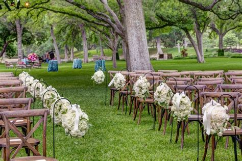 outdoor spring wedding celebration on a ranch in