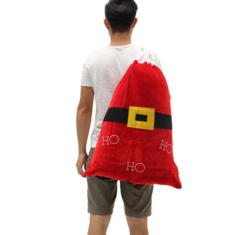 Santa Claus Backpack home decoration santa claus backpack toys
