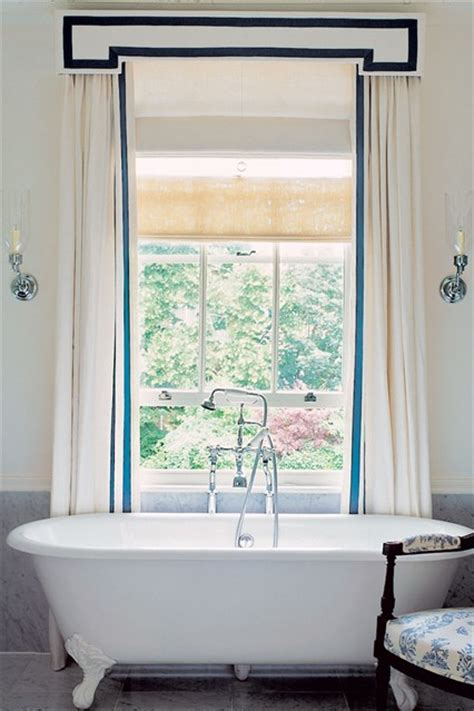 Bathroom Curtains With Pelmet Blue With Curtains Bathroom Design Ideas