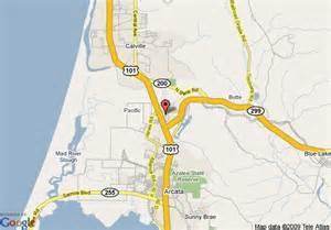 map of days inn arcata ca arcata