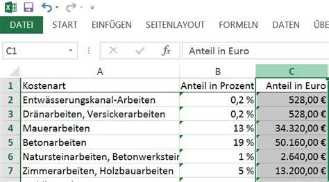 Baukosten 2015 Pro Qm by Baukosten Rechner 2015 F 252 R Excel Giga