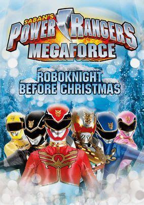 power rangers megaforce the robo before christmas