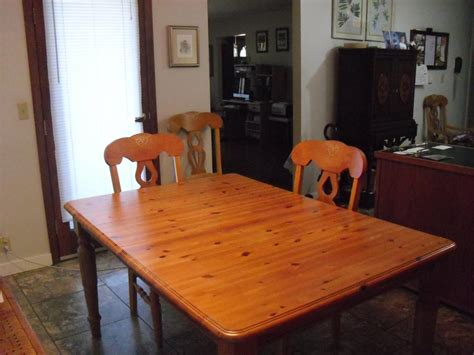 kitchen table chairs hutch set outside comox valley