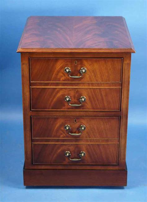 mahogany two drawer file cabinet for sale antiques com