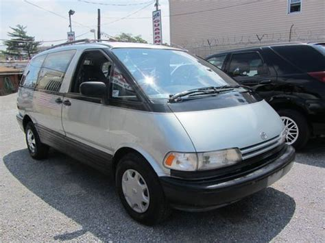1992 Toyota Previa Sell Used 1992 Toyota Previa Dx Mini Passenger 3 Door
