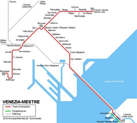 uffici actv mestre mobility press realizzate le nuove mappe dei e tram