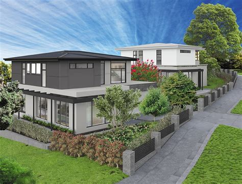 sloping site house designs sloping block builders melbourne geelong gentrify