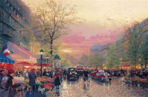 libro paris city of light paris city of lights the thomas kinkade company