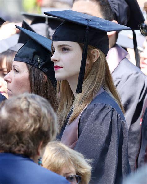 emma watson college major emma watson graduates from brown university 182045