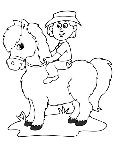 pony ride coloring pages breyer horse coloring pages coloring home