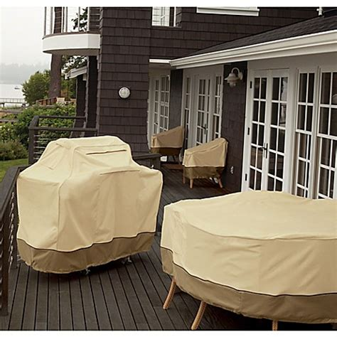 veranda collection patio furniture covers classic accessories 174 veranda patio furniture cover collection bed bath beyond