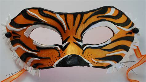 How To Make A Tiger Mask Out Of Paper - 301 moved permanently
