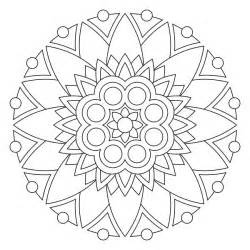 Mandala Coloring Pages On Pinterest  Adult sketch template
