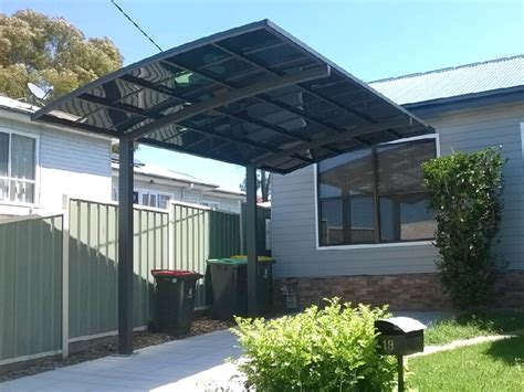 cantilever carport 3 0m x 5 5m car port aluminium portable