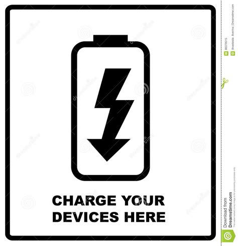 charge your phone charge your devices here sign battery icon charge