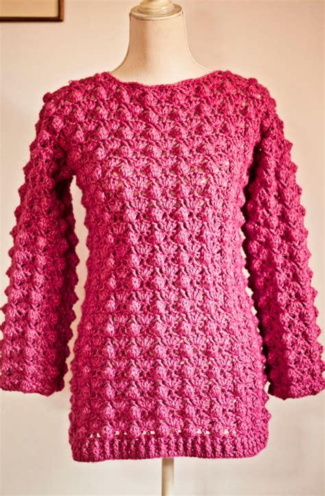 crochet pattern ladies jumper crochet ladies sweater crochet and knit