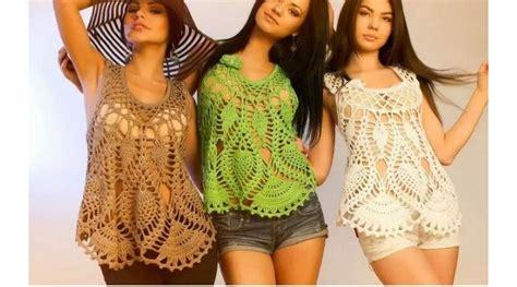 paso a paso blusas de crochet maravillosas blusas en crochet con paso a paso