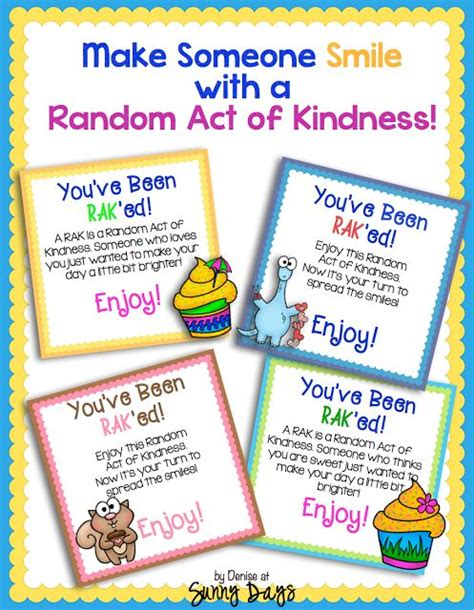 28 random acts of kindness 40 best kind kids club images on pinterest classroom