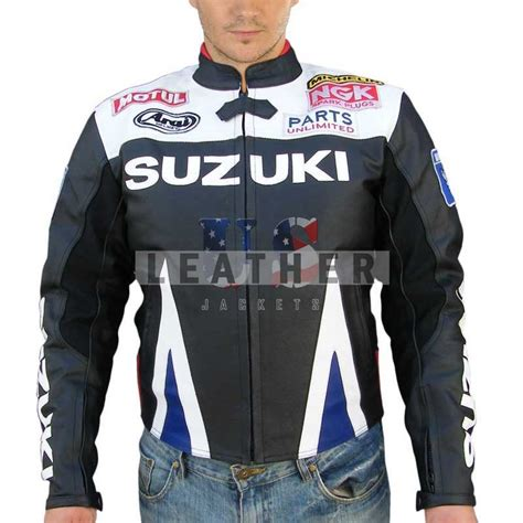 Suzuki Leather Jacket by Leather Motorcycle Jackets Motorcycle Leather Suit