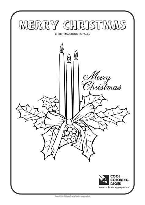 christmas tree with candles coloring page cool coloring pages christmas coloring pages cool