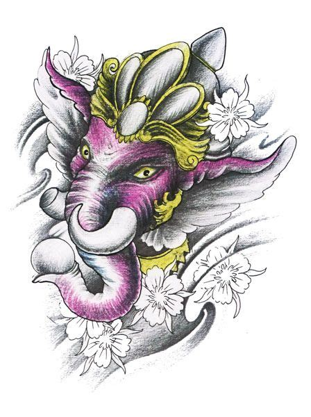 ganesh tattoo stencil ganesh tattoo flash designs top quality high resolution