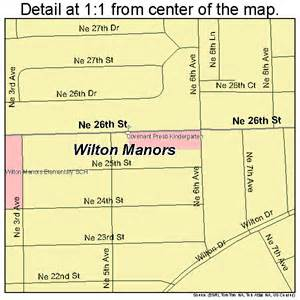 map of wilton manors florida wilton manors florida map 1278000