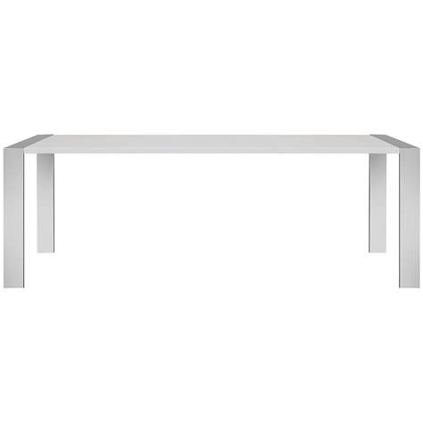 White Rectangular Dining Table City Furniture Neo White Rectangular Table