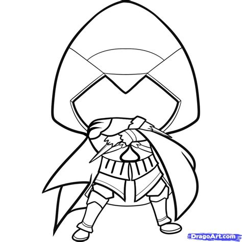 doodle drawings how to how to draw a assassin pencil drawing