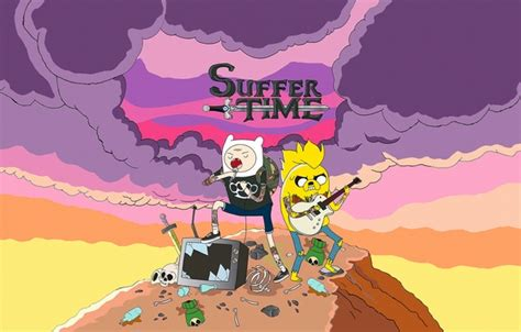 Adventure Time Iphone All Semua Hp 3 wallpaper adventure time jake suffer time pop rock finn images for desktop