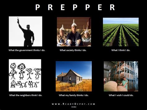 Doomsday Preppers Meme - www readydepot com information and supplies for the