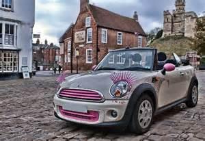 Mini Cooper Eyelashes Are Pink Car Eyelashes Are Most Popular Eyelashes For
