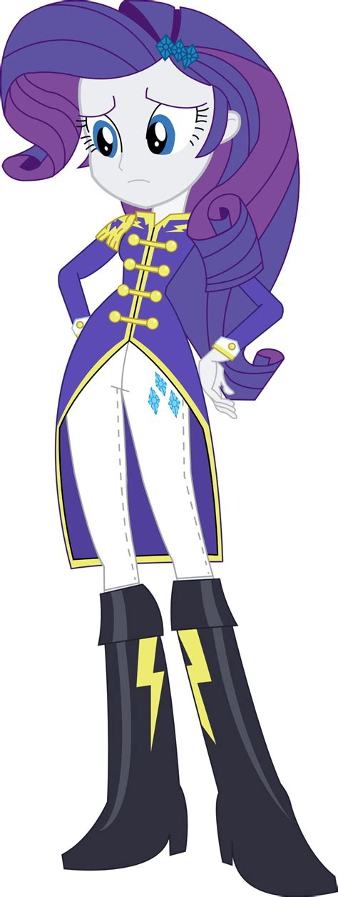 my little pony as equestria girl rarity equestria girls rarity wonderbolt sargent attire by