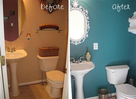 before after powder room grace notes