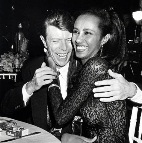 and bowie david bowie s marriage to iman