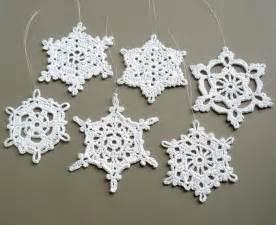 6 crochet christmas decorations xmas pinterest
