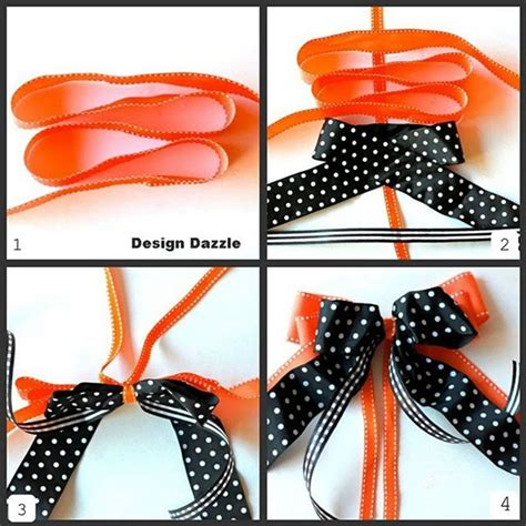 how to make a bow step by step www pixshark com images
