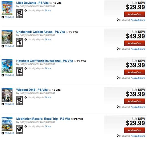Can You Buy Games Online With A Gamestop Gift Card - game news select first party ps vita titles now available for purchase through
